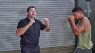 Self Defense Techniques - Five Basic Hand Strikes & Defense