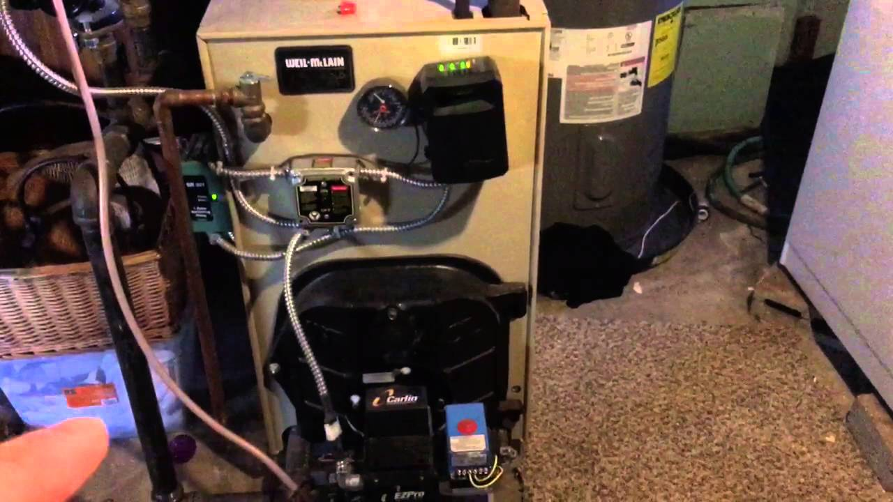Weil-McLain Gold Boiler Furnace Model WGO-3 - Review - YouTube