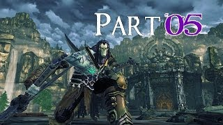 Darksiders II 100% Walkthrough 5 The Forge Lands ( Fire Of The Mountain ) The Cauldron Completed