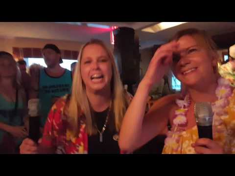 Greg & The Morning Buzz-Luau on the lake- Laura and Kayla- Journey 2017