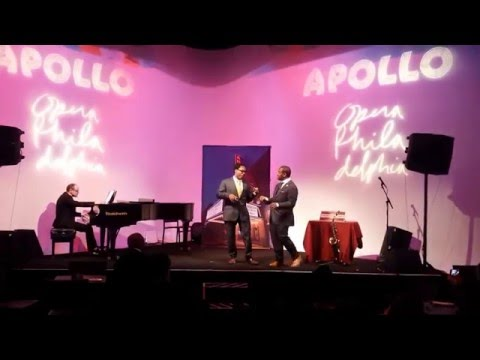 "Will Liverman and Lawrence Brownlee perform some ""YARDBIRD"" at Apollo Theater"