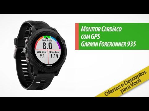 Monitor Cardíaco com GPS Garmin Forerunner 935 | Compre na Centauro com Preço Exclusivo!