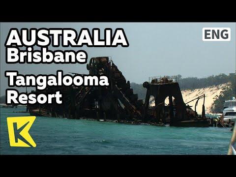 【K】Australia Travel-Brisbane[호주 여행-브리즈번]난파선, 탕갈루마 리조트/Shipwrecks/Dock/ATV/Moreton Island/Cruise