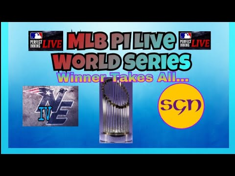 MLB PI Live Seasons - WORLD SERIES! Who Will Become Champion?!