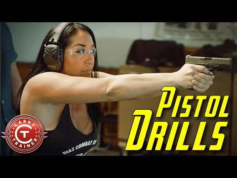 Pistol Drills with Embrace the Recoil, Ro EDC and Tracy Lee  Part 1 4K
