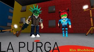 Videotutorial of how not to survive in the purge xd Roblox The Purge Trollman779