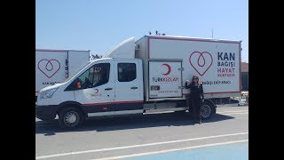 KIZILAY Kan bağışı süresi ve işlemleri 1 ünite kan 3 hayat......
