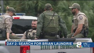 Search for Brian Laundrie to resume at sunrise