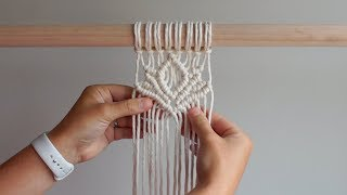 DIY Macrame Tutorial - Lotus Flower