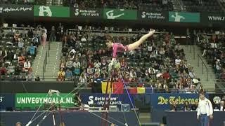 Aliya Mustafina (RUS) Uneven Bars Team Qualifcations 2010 Rotterdam World Championships