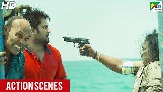 Investigation Ek Report - Action Scenes | New Hindi Dubbed Movie 2019 | Ram, Neeraja, Singamuthu