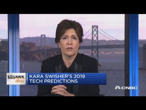 Recode's Kara Swisher lays out 2019 tech predictions