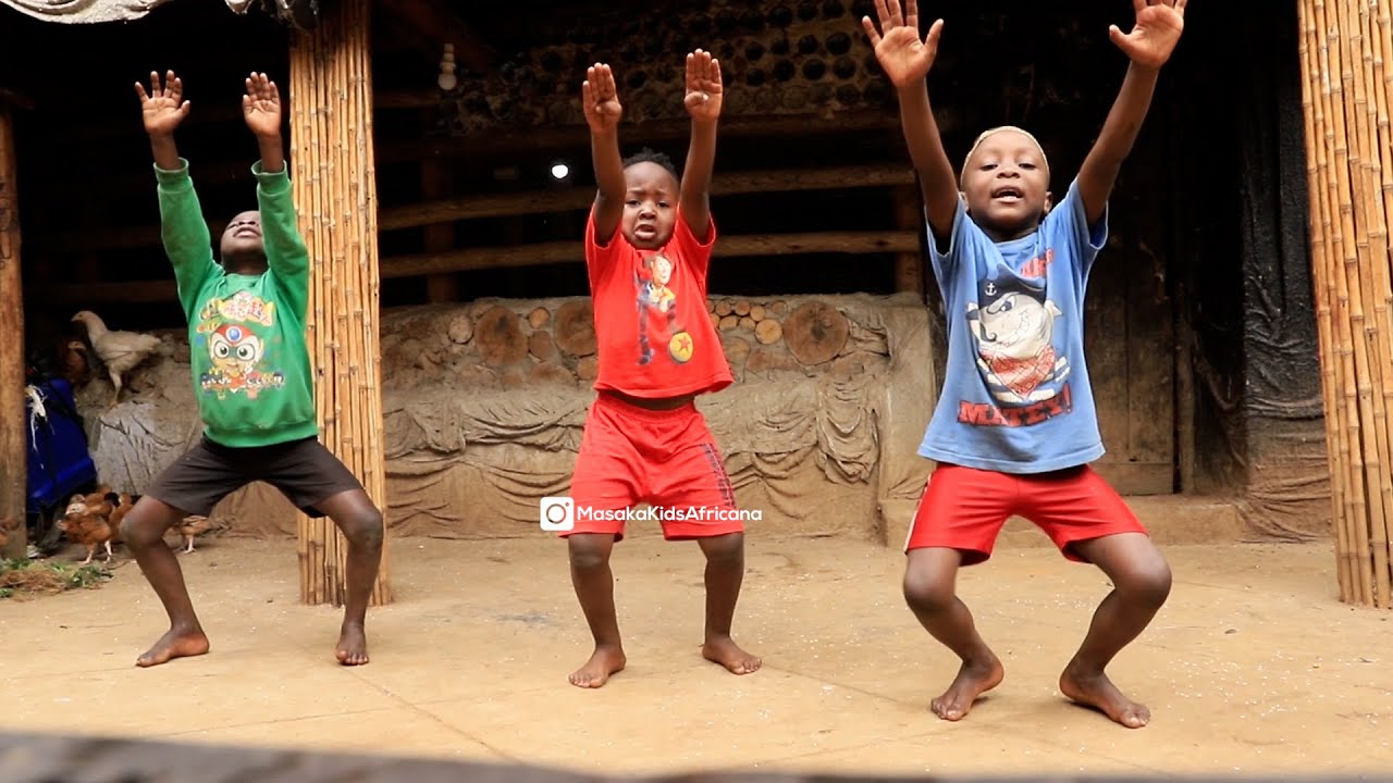 Masaka Kids Africana Dancing MOOD ( Full video link in description )