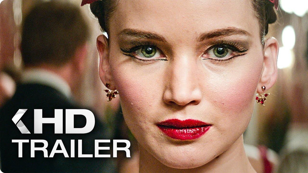RED SPARROW Trailer 2 German Deutsch (2018) - YouTube