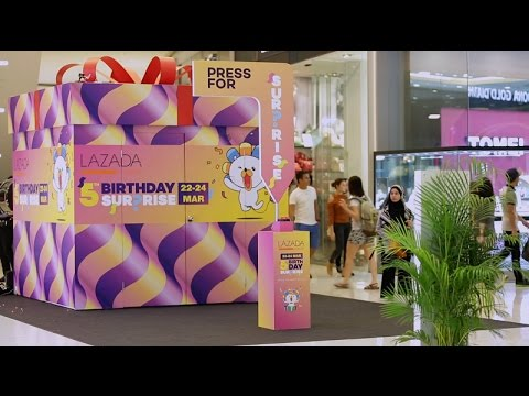 Press for Surpri5e - Lazada Malaysia
