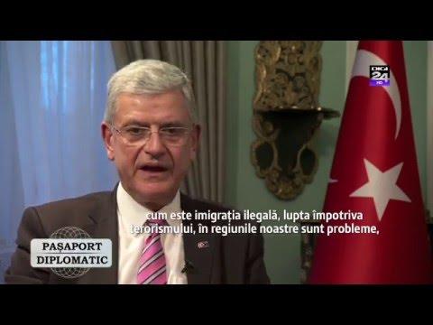 AB Bakanı ve Başmüzakereci Büyükelçi Volkan Bozkır Digi24'e mülakat verdi