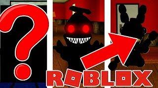 Roblox Fünf Nächte bei Freddys CHALLENGE! - Geheime Animatronics Herausforderungen! Roblox FNAF!