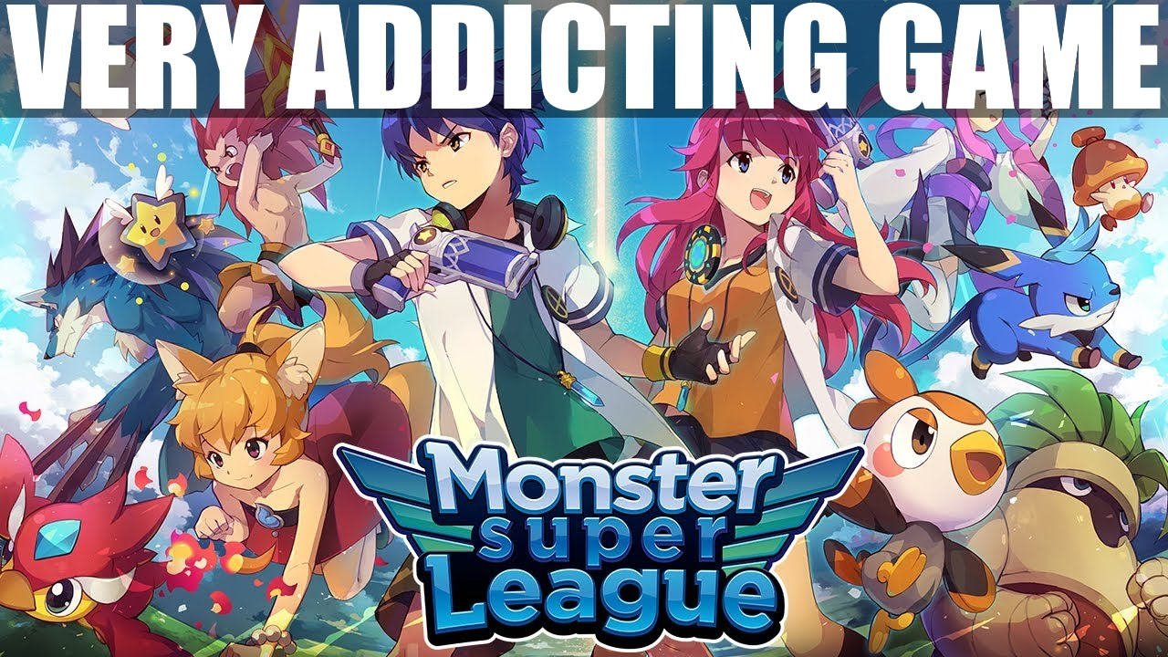MONSTER SUPER LEAGUE Gameplay | Addicting Game for Android ...