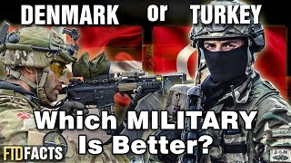 DENMARK or TURKEY - Which Military is Better?