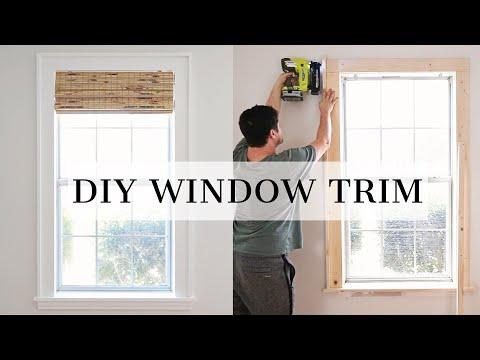 DIY Window Trim   How To Trim A Window With Craftsman Window Trim