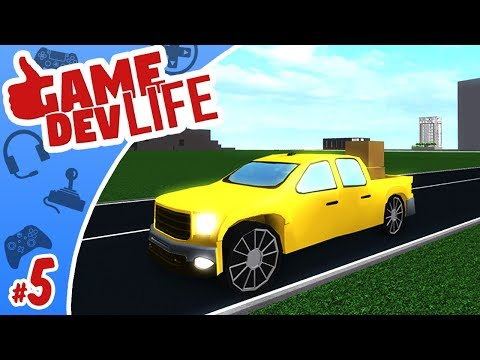 Game Dev Life #5 - THAT NEW TRUCK SMELL!! | Roblox
