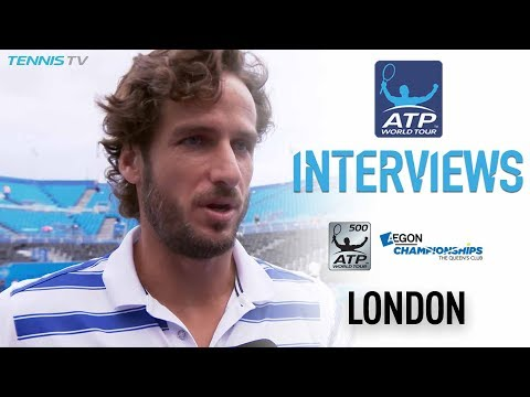 Lopez One Win From Second Straight Grass Final Queen's 2017