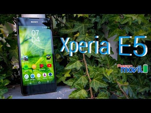 Xperia E5 - Análisis en Español HD