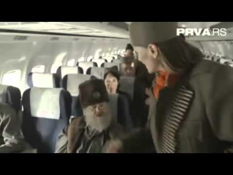 Nadrealna televizija Četnik airlines