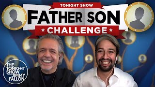 Father-Son Challenge with Luis & Lin-Manuel Miranda