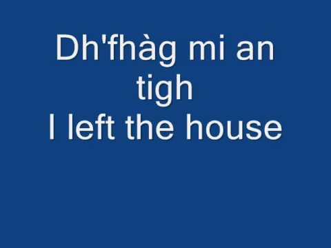 The Gaelic of Arran