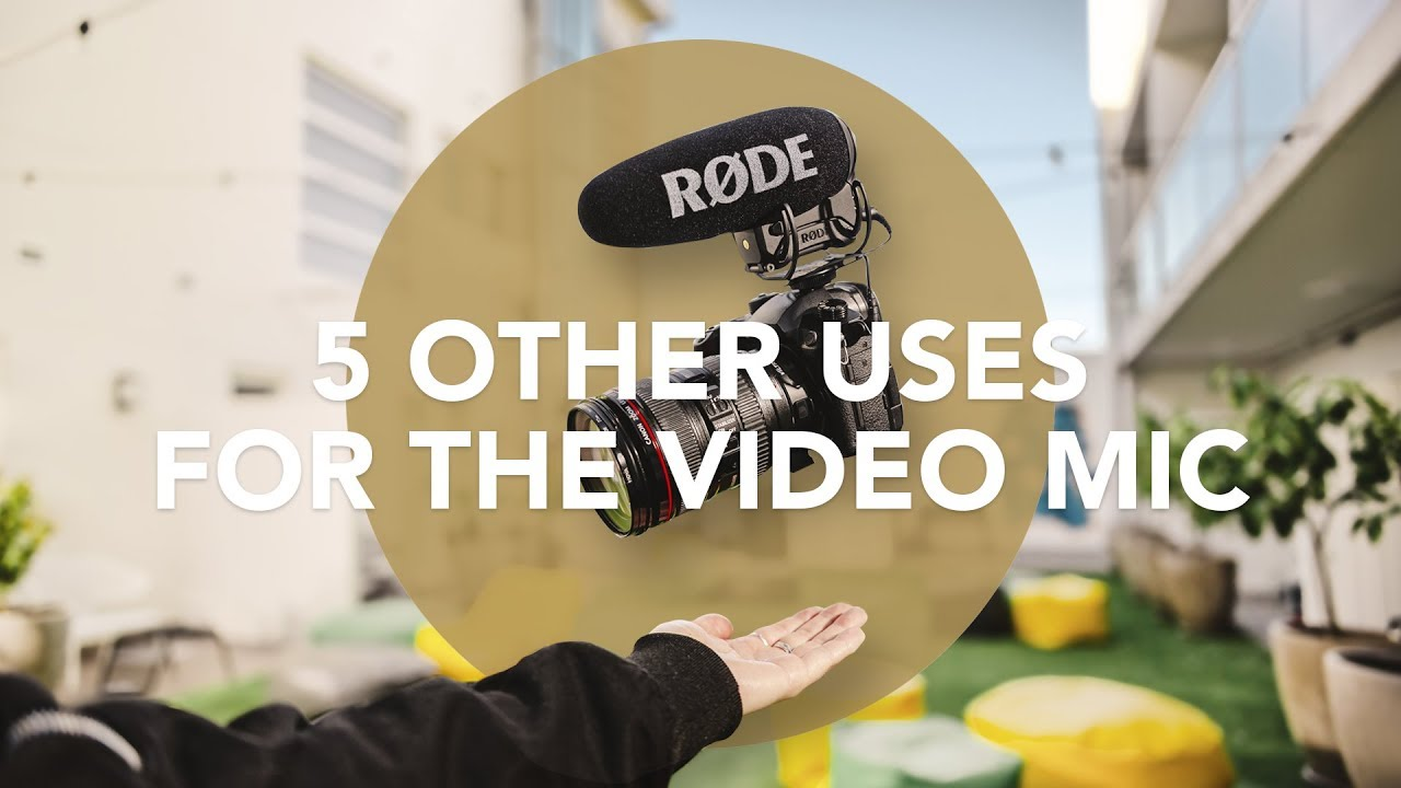 Audio for Film 101: 5 Other Uses For Your VideoMic
