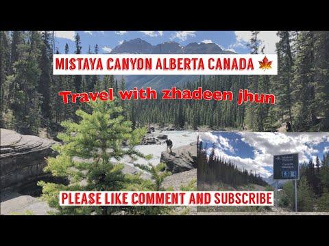 Mistaya Canyon (Rockies
