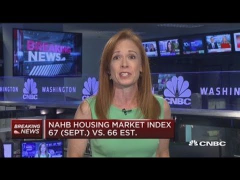 NAHB housing market index at 67 in September