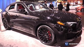 Gambar cover 2018 Maserati Levante - Exterior and Interior Walkaround - 2018 Chicago Auto Show