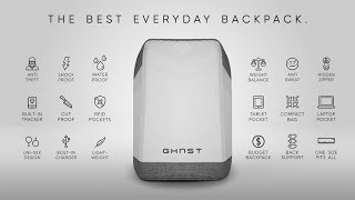 GHOST: The World's Most Advanced Smart Backpack