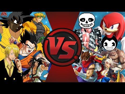 ANIME vs VIDEO GAMES (Dragon Ball Super vs Sonic vs One Piece & More) Cartoon Fight Club Bonus EP!?!