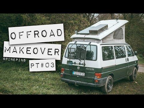 """Offroad Makeover Pt.03 - VW T4 - Rost, Arbeitsscheinwerfer Und Ein """"Custom Heckklappen Rack"""""""