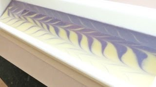Making Lavender Cold Process Soap ~ Peta...