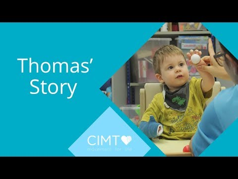 Thomas' Story | Constraint Induced Movement Therapy (CIMT)