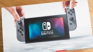 【未開封動画】Nintendo Switchを手に入れました