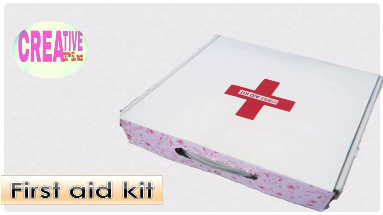 how to make first aid box using old box of setup box old cardboard