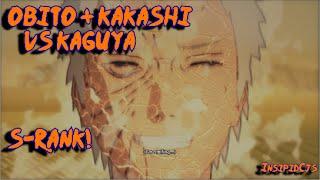 Naruto Ultimate Ninja Storm 4: Obito & Kakashi Vs Kaguya S-Rank (English) Story Part 20