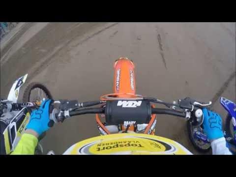 GoPro HD: Jago Geerts European Champion 125cc 2016