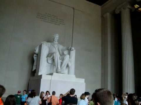 """El """"Lincoln Memorial"""" en Washington DC:Arquitecto Luis Alejandro Gusberti,(Arg.)"""