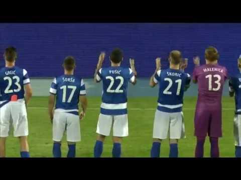 HNTV sažetak: NK OSIJEK vs UE SANTA COLOMA 4:0 (uzvratna utakmica 1. pretkola Europske lige)