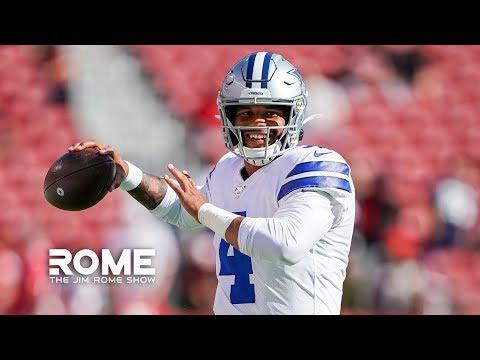 Dak Prescott Is Betting on Himself   The Jim Rome Show