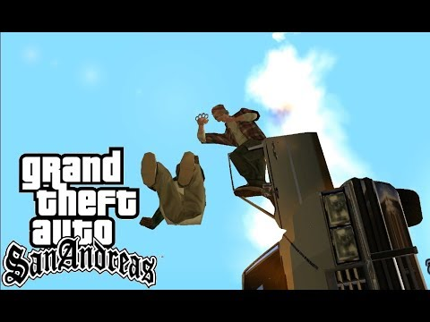 GTA: San Andreas - Monster Truck Glitch Compilation #2 [2160p]