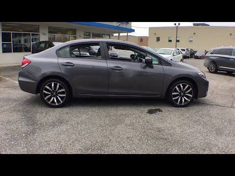 2014 Honda Civic White Plains, New Rochelle, Westchester, Scarsdale, Greenwich, NY U22942L