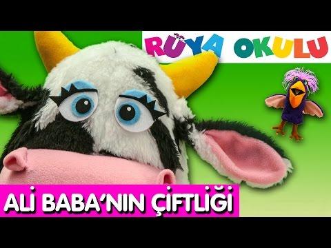 Ali Baba'nın Çiftliği - Çocuk Şarkısı - Kuklalar -  RÜYA OKULU