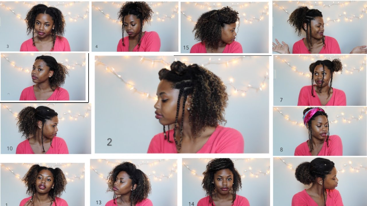 15 -school natural hairstyles